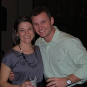 Nick with his wife, Ashley Whitlock.