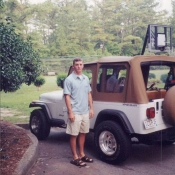 Nick and his Jeep