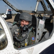 Nick in a T-37